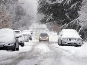 Das kalte Winterwetter in den USA hält die Auto-Kundschaft von Neuwagenkäufen ab. (Bild: KEYSTONE/AP/ELAINE THOMPSON)