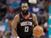 James Harden war mit 58 Punkten Hauptakteur in der Aufholjagd der Houston Rockets gegen die Miami Heat (Bild: KEYSTONE/AP/CHUCK BURTON)