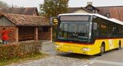 Ein Postauto unterwegs im Thurgau. (Bild: Reto Martin)