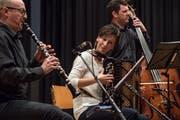 Spielt an der Volksmusik-Gala: Claudia Muff. (Bild Nadia Schärli )