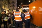 Die Polizei ist während der Fasnacht besonders gefordert. (Bild: Manuela Jans Koch/Luzerner Zeitung (Luzern, 28. Februar 2019))