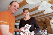 Daniel und Daniela Vogt bewerben die «Kreamania». (Bild: PD)