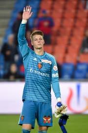 Thomas Häberli über den Ex-FCL-Goalie, der seit Anfang Saison ein Basler (Bild) ist: «Für alle, die auf Jonas Omlin folgen, ist es unheimlich schwierig.» (Bild: Daniela Frutiger/Freshfocus (Basel, 17. Februar 2019))