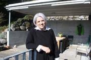 Ihr Zuhause in Oberuzwil müsste Caroline Bartholet nach Niederbüren verlegen – falls sie ins Amt gewählt wird. (Bild: Tobias Söldi)