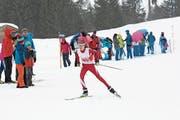 Die Alpnacherin Joëlle Niederberger setzt in La Lécherette ihre Erfolgsserie mit zwei Siegen fort. (Bild: Marco Berwert (Les Mosses, 9. März 2019))