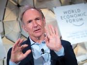 Legte den Grundstein für das Internet: der britische Physiker Tim Berners-Lee. (Bild: KEYSTONE/LAURENT GILLIERON)