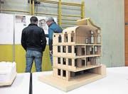 Die Planung für den Bau der neuen Gemeindekanzlei in Urnäsch ist weit fortgeschritten. (Bild: PD)