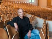 Sein neuster Film «Passion - Zwischen Revolte und Resignation» feiert am 50. Visions du Réel in Nyon Premiere: der Schweizer Regisseur Christian Labhart. (KEYSTONE/Christian Beutler) (Bild: KEYSTONE/CHRISTIAN BEUTLER)