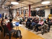 Die Grünen hielten ihre Generalversammlung bei Getränke Lussi in Oderdorf ab. (Bild: Martin Uebelhart, 11. März 2019)