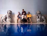 Die vier Musiker der Band Foals (Bild: pd)