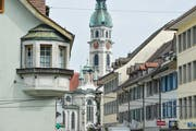 Die Altstadt Frauenfelds. (Bild: Donato Caspari)