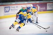 Uzwil möchte seine Führungsspieler wie etwa Captain Alain Rüfenacht (im gelb-blauen Trikot) halten. (Bild: Ralph Ribi)