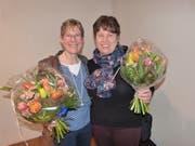 Karin Ammann und Daniela Specker wurden für ihr Engagement in der Kirchenvorsteherschaft geehrt.