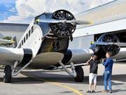 Keine Lizenz für kommerzielle Passagierflüge mehr: Eine Ju-52 der Ju-Air. (Bild: KEYSTONE/WALTER BIERI)