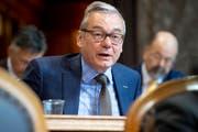 Hält nichts von der Konzernverantwortungs-Initiative und von einem Gegenvorschlag: FDP-Ständerat Ruedi Noser. (Bild: Anthony Anes, Keystone)