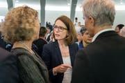 Will den Ständeratssitz für die FDP verteidigen: die St.Galler Kantonsrätin Susanne Vincenz-Stauffacher (Bild: Michel Canonica)