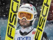 Kein Grund, sich zu ärgern: Killian Peier sprang in Lillehammer erneut in die Top Ten (Bild: KEYSTONE/PETER SCHNEIDER)