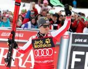 Marcel Hirscher wird in Soldeu den achten Gesamtweltcup-Sieg in Folge feiern. (Bild: Antonio Bat/EPA (Kranjska Gora, 10. März 2019))