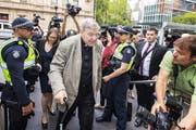 Der verurteilte Kardinal George Pell. (Bild: David Crosling/EPA, Melbourne, 26. Februar 2019)