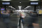Der Bahnhof Luzern. (Bild: KEYSTONE/Urs Flueeler)
