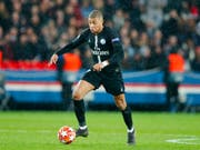 Kylian Mbappé trifft zum 25. Mal in der laufenden Ligue-1-Saison (Bild: KEYSTONE/AP/FRANCOIS MORI)