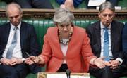 Regierungschefin May versuchte gestern vergeblich, die Parlamentarier von ihrem Brexit-Deal zu überzeugen. (Bild: Jessica Taylor/AP (London))