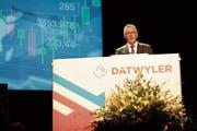Verwaltungsratspräsident Paul Hälg appelliert daran, das Erfolgsrezept der Schweiz zu wahren. (Bild: Florian Arnold, Altdorf, 12. März 2019)