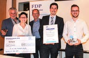 Viktor Gschwend, Priska Lang, Dieter Bötschi, Michael Löpfe und Patrik Stacher. (Bild: PD)