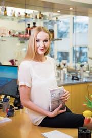 Corinna T. Sievers in ihrer Praxis für Kieferorthopädie. (Bild: Mareycke Frehner)