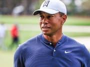 Tiger Woods kann nach gesundheitlichen Problemen aufatmen (Bild: KEYSTONE/EPA/TANNEN MAURY)