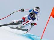 Corinne Suter unterwegs zu einem weiteren Top-Ergebnis (Bild: KEYSTONE/AP/GABRIELE FACCIOTTI)