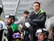 Cheftrainer Stephan Mair bleibt mit seinen Thurgauern weiter vorzüglich positioniert im Playoff-Rennen (Bild: KEYSTONE/GIAN EHRENZELLER)