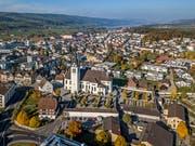 Blick auf den Dorfkern von Hochdorf. (Bild: Pius Amrein, 7. November 2018)