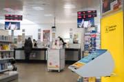 Wird nächstes Jahr verlegt: Die Poststelle in Kriens. (Bild: Boris Bürgisser, 14. Februar 2017)