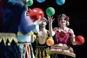 Ein Musical als Feuerwerk aus zwei Welten. (Bild: Walter Bieri/Key)