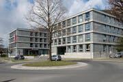 Der Hauptsitz der Nidwaldner Kantonalbank in Stans. (Bild: Dominik Wunderli, Stans, 13. März 2019)