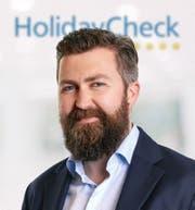 Georg Ziegler, Marketingchef Holidaycheck, Bottighofen.Bild: PD