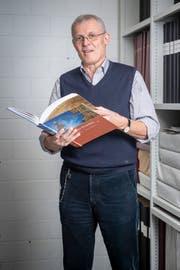Josef Moser ist langjähriger Archivar in Bazenheid und vierfacher Buchautor. (Bild Urs Bucher)