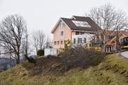 """Vor dem """"Haus im Ruthen"""" wird Richtung Bodensee ein Ergänzungsbau mit zehn Zimmern errichtet. (Bild: PD)"""