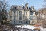 Wird hier nach der Sanierung geschrieben und gelesen? Die Villa Wiesental ist als möglicher Standort für ein St.Galler Literaturhaus im Gespräch. (Bild: Hanspeter Schiess)