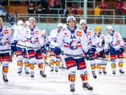 Die ZSC Lions gewinnen in der Abstiegsrunde in Rapperswil mit 3:2 (Bild: KEYSTONE/PATRICK B. KRAEMER)