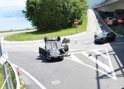 Insgesamt 234 Unfälle registrierte die Polizei im vergangenen Jahr. (Bild: Kantonspolizei Nidwalden)