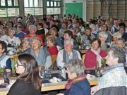 Die Landfrauen freuten sich über einen interessanten Vortrag zum Thema «Das Geheimnis der Hände». (Bild: Ulrike Huber)