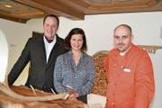 Michael und Simone Müller vom Hotel Hirschen wollen mit «Wildhaus-Unplugged» neue Gäste in die Region bringen. (Bild: Adi Lippuner)