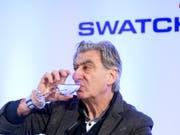 Swatch-Chef Nick Hayek erhielt 2018 ein Gehalt von gut 7 Millionen Franken. (Bild: KEYSTONE/ANTHONY ANEX)
