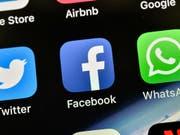 US-Ermittler haben die Verträge von Technologieunternehmen mit Facebook zur gemeinsamen Nutzung von Kundendaten unter die Lupe genommen. (Bild: KEYSTONE/AP/MARTIN MEISSNER)