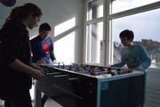 Nebst «Töggelikasten» sind auch der Ping-Pong-Tisch sowie die verschiedenen Events äusserst beliebt.