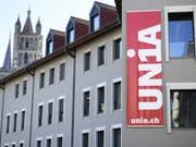 Der Haussegen bei der Unia Waadt hängt schief. Im Bild die Büros in Lausanne. (Bild: Keystone/LAURENT GILLIERON)