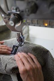 Schweizer Handarbeit wird bei Riposa grossgeschrieben. (Bild: pd)