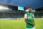 Zwei Jahre spielte Nzuzi Toko für den FC St.Gallen. (Bild: Urs Bucher)